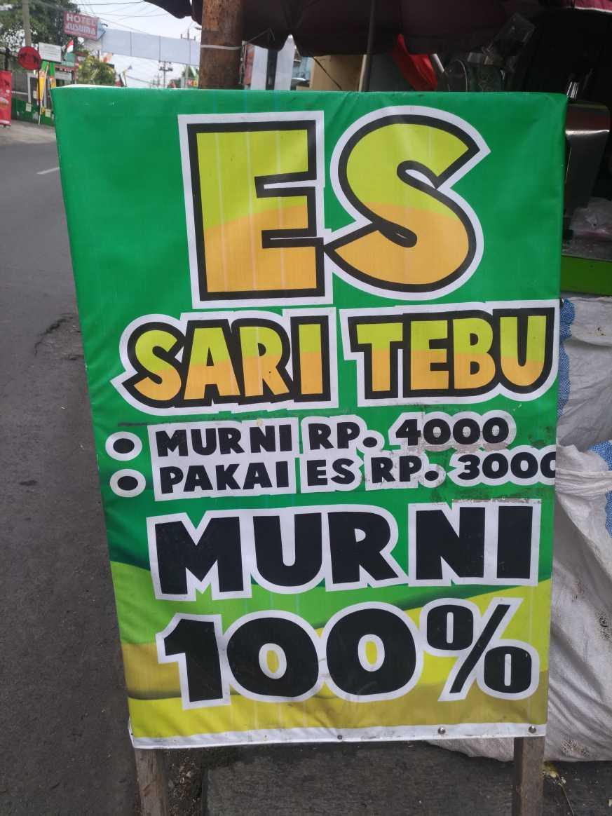Spanduk Es Sari Tebu - desain spanduk keren